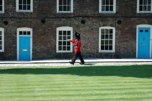 Changing of the guard at the Tower